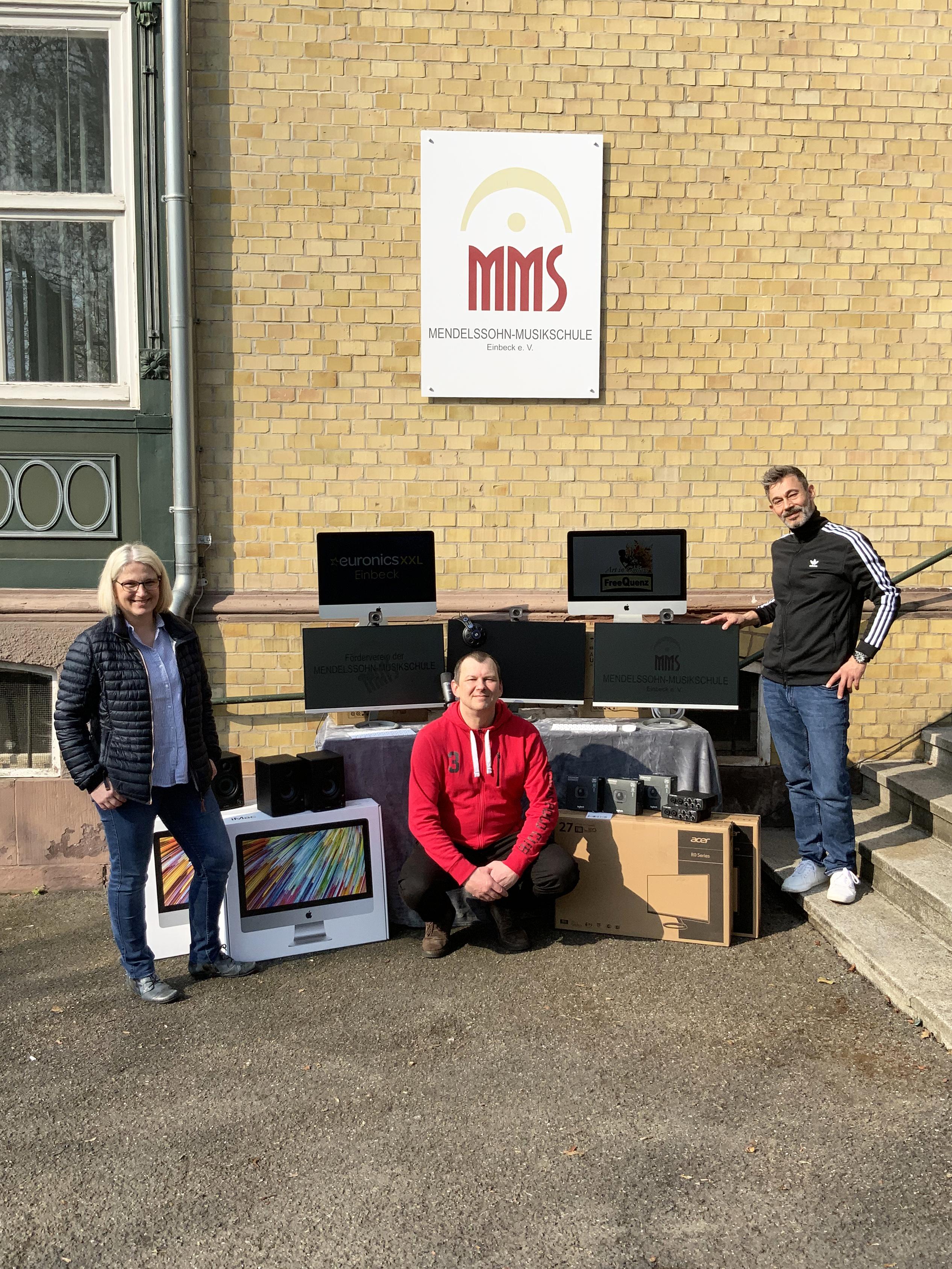Neues Medien-Equipment für die MMS