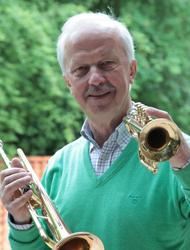 Martinas Klimkeit: Trompete, Klavier, Ensembleleitung