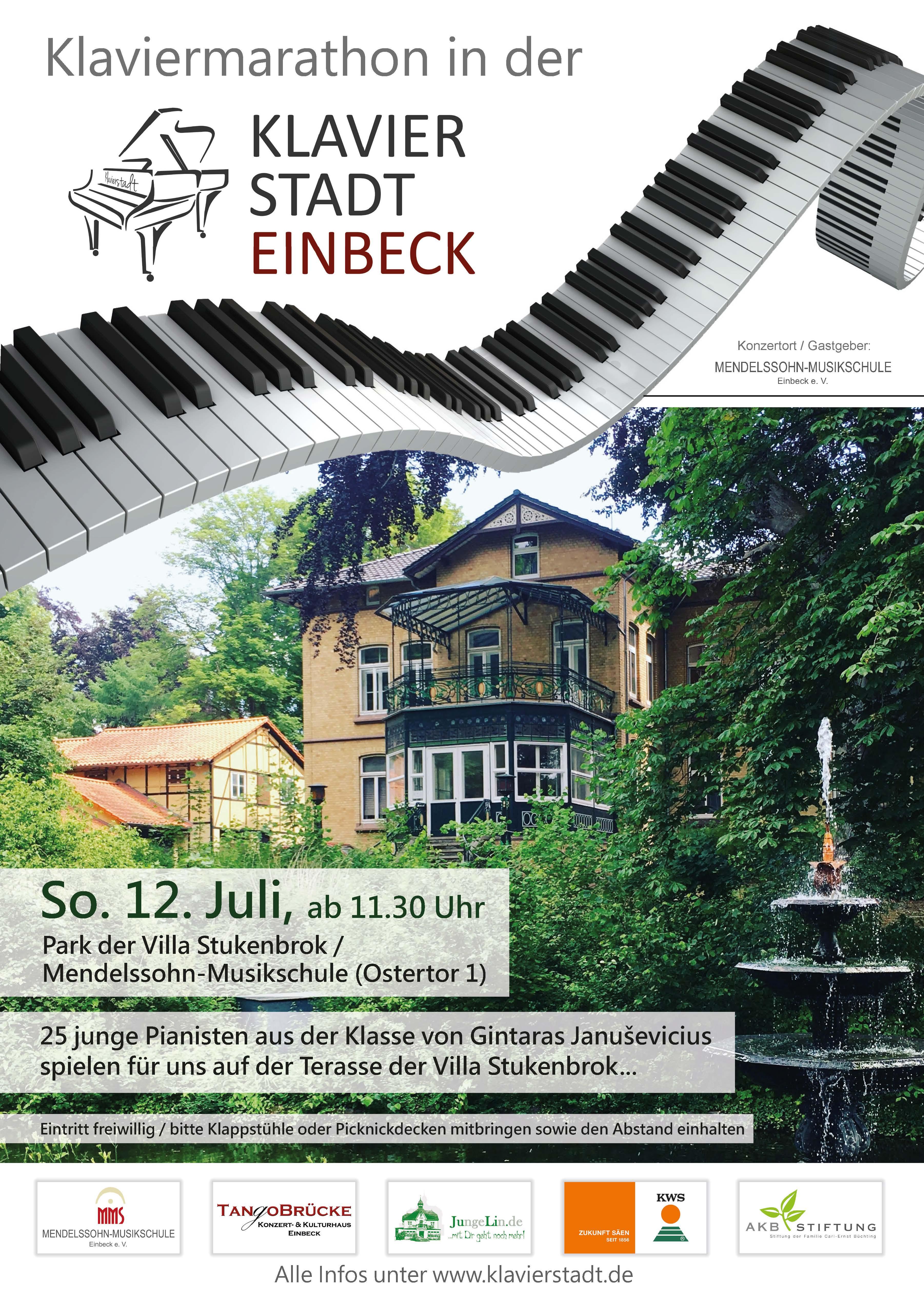 Klaviermarathon 12.07.2020