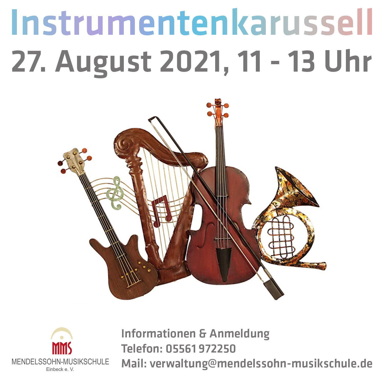 Instrumentenkarussel August 2021