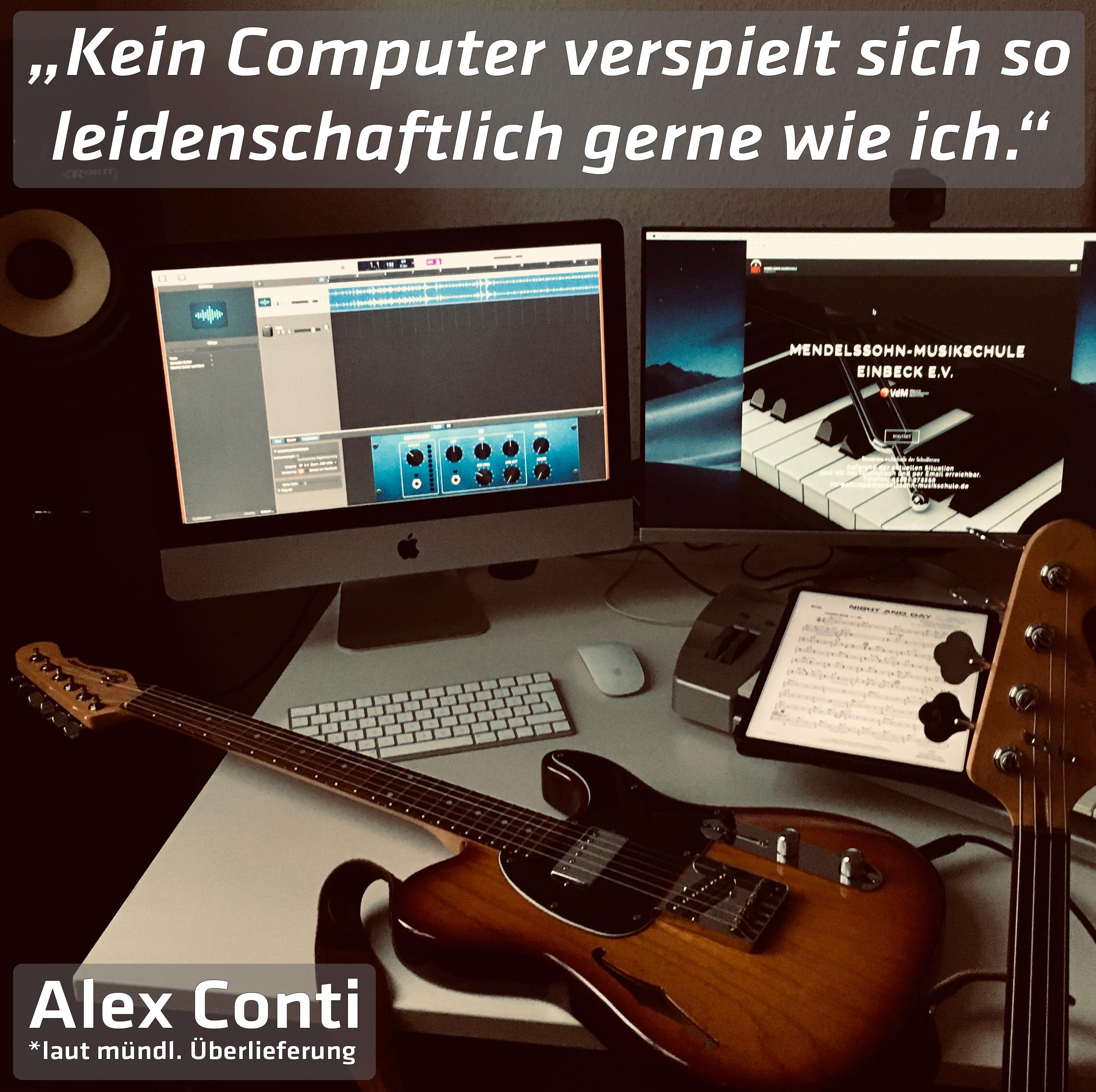 """""""Kein Computer verspielt sich so leidenschaftlich gerne wie ich."""""""